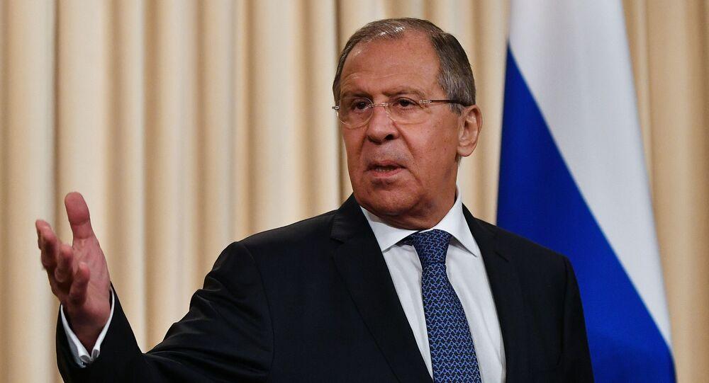 وزير الخارجية لافروف