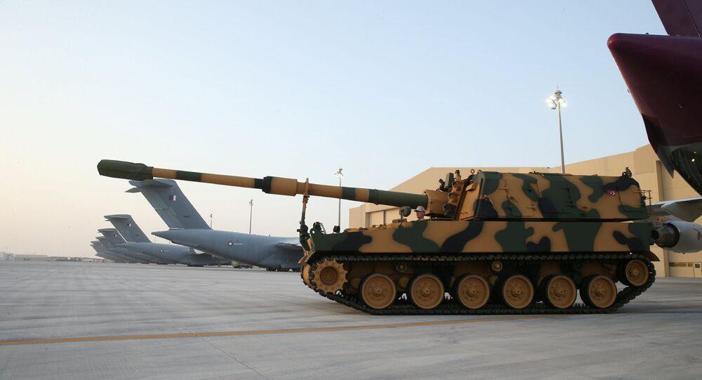القاعدة التركية في قطر