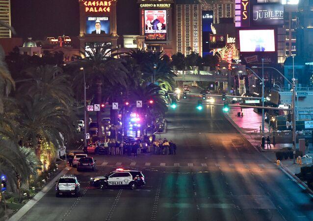 حادث سيارة في لاس فيغاس