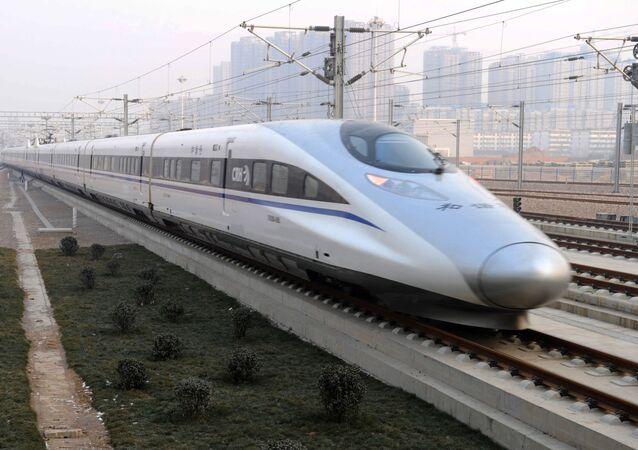 قطارات الطلقة في الصين