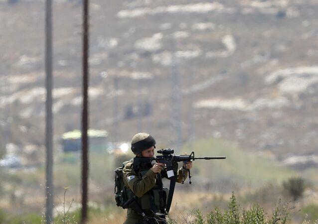 غضب الأقصى - مواجهات واشتباكات في مدينة رام الله، الضفة الغربية، فلسطين