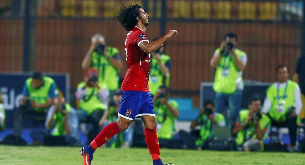 عمرو بركات لاعب النادي الأهلي