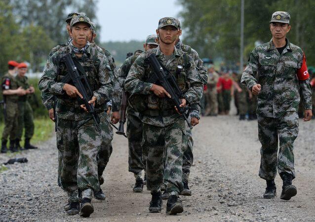 الألعاب العسكرية الدولية أرميا-2017 في روسيا - القوات الكورية الشمالية