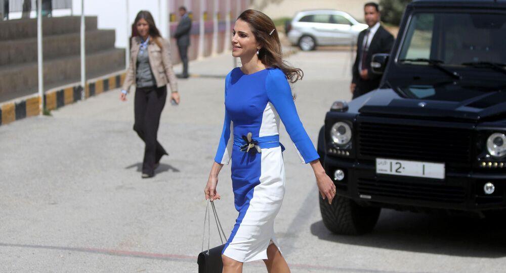 ملكة الأردن رانيا العبدالله