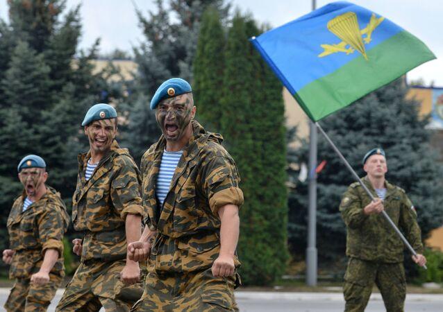 القوات المظلية الروسية في ستافروبل