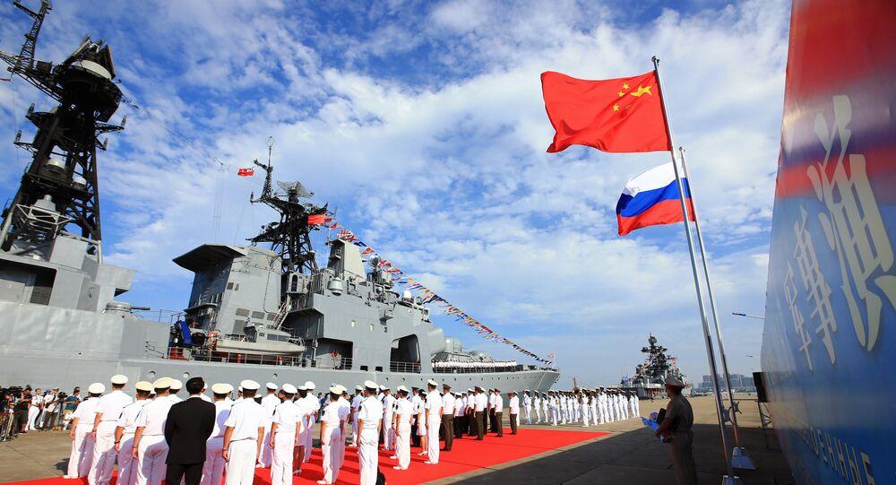 العلاقات الصينية الروسية