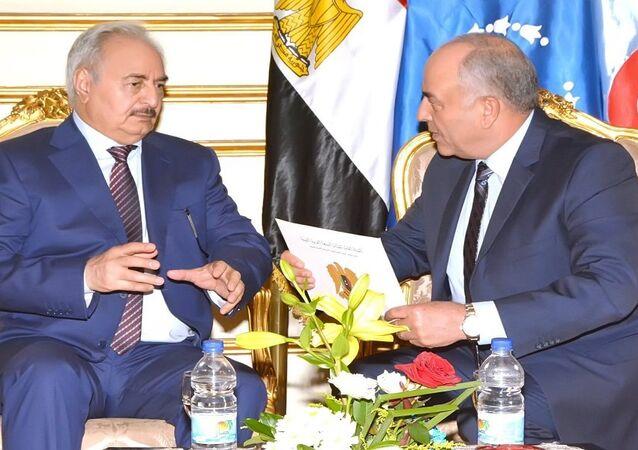 حفتر في القاهرة