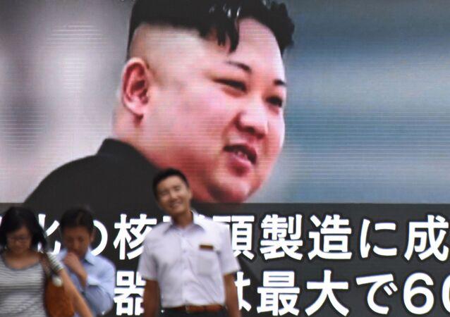 زيادة حدة التوتر بين الولايات المتحدة الأمريكية وكوريا الشمالية، اليابان