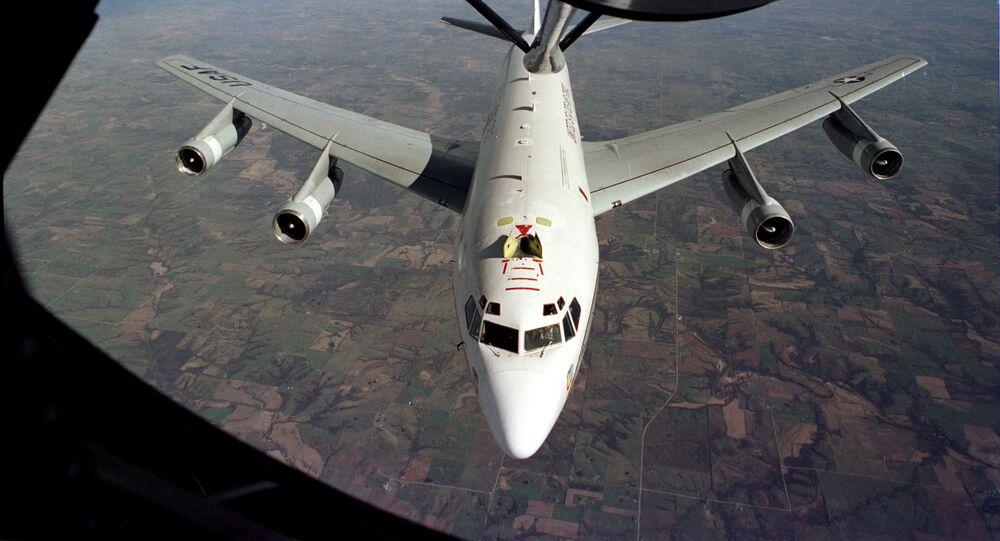 طائرة متخصصة أمريكية من طراز WC-135