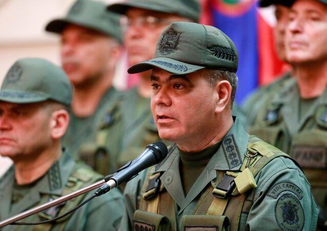 وزير الدفاع الفنزويلي فلاديمير بادرينو لوبيز