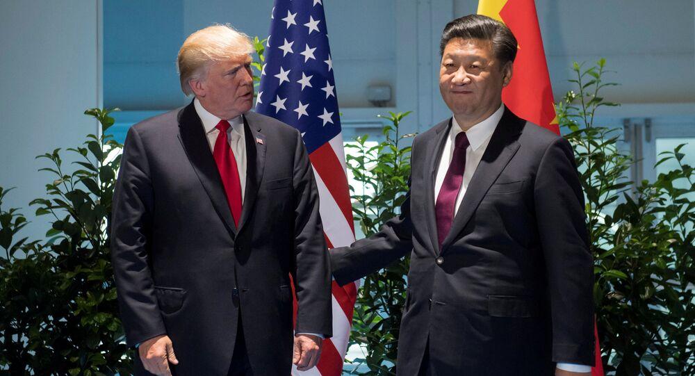 ترامب والرئيس الصيني في قمة العشرين