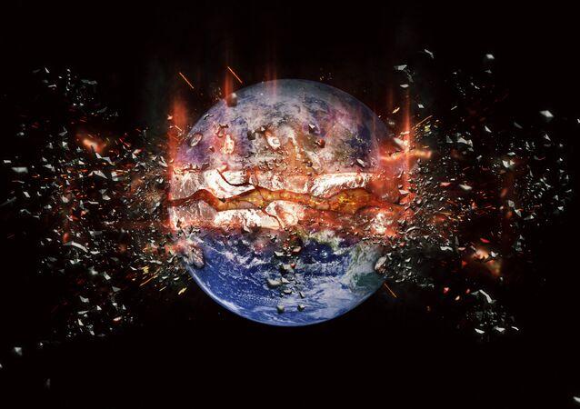 انفجار الكرة الأرضية