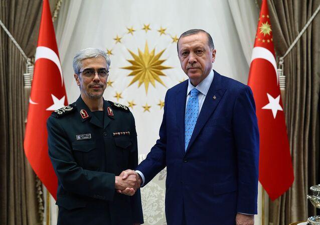 أردوغان ومحمد باقري