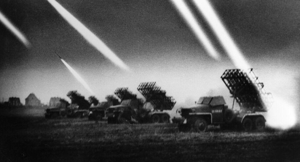 راجمات صواريخ كاتيوشا