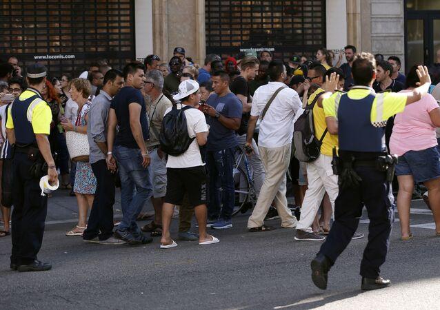 الهجوم الإرهابي في برشلونة