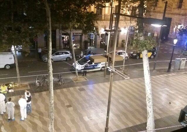 مكان الدهس في برشلونة