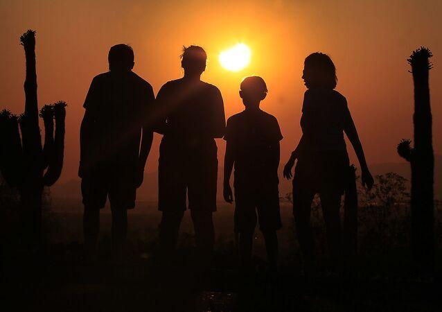 كسوف الشمس في أمريكا
