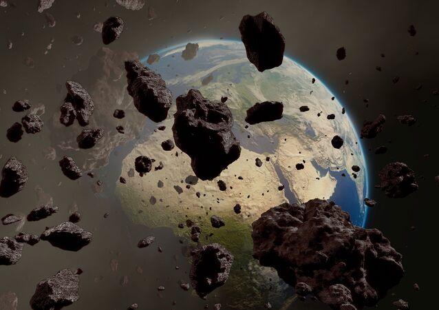 حزمة كويكبات تتجه نحو الأرض
