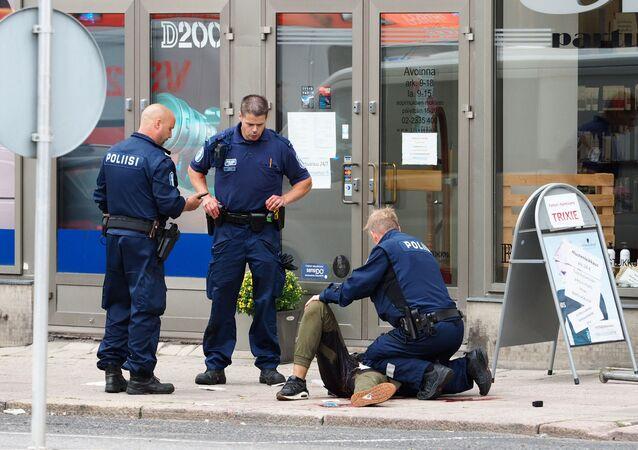 السلطات الفنلندية تعتقل خمسة متهمين بهجوم توركو