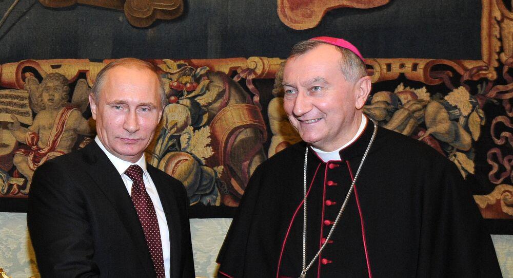 سكرتير دولة الفاتيكان يزور موسكو