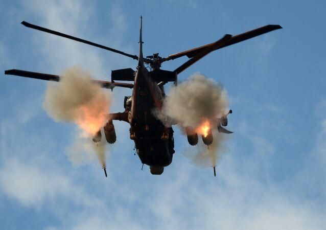 المروحية الروسية كا-52