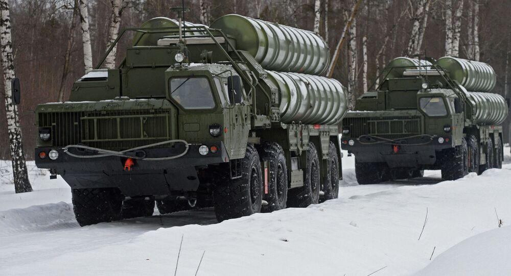 منظومات الدفاع الجوي إس-400