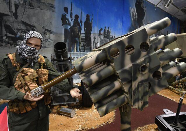 غنائم مأخوذة من الإرهابيين في سوريا