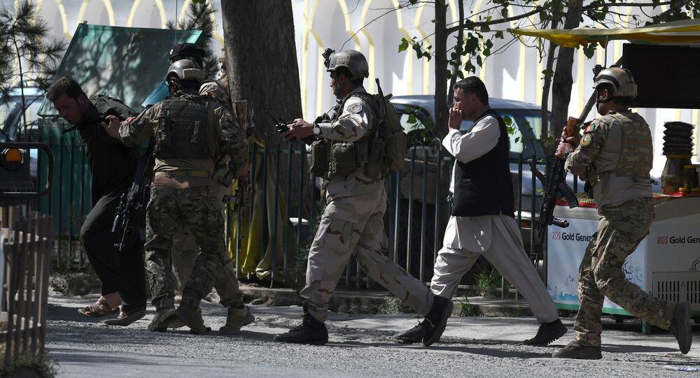 هجوم على مسجد في كابول
