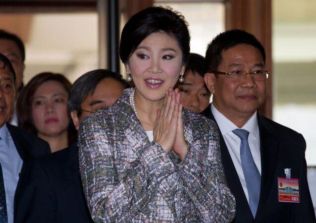 رئيس الوزراء التايلاندية السابقة ينجلوك شيناواترا