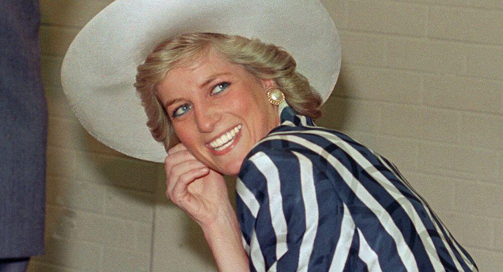 الأميرة ديانا في أستراليا، عام 1988