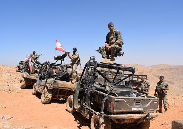 الجيش اللبناني في جرود رأس بعلبك