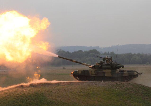 أقوى دبابة روسية تتجه إلى العراق لحمايته