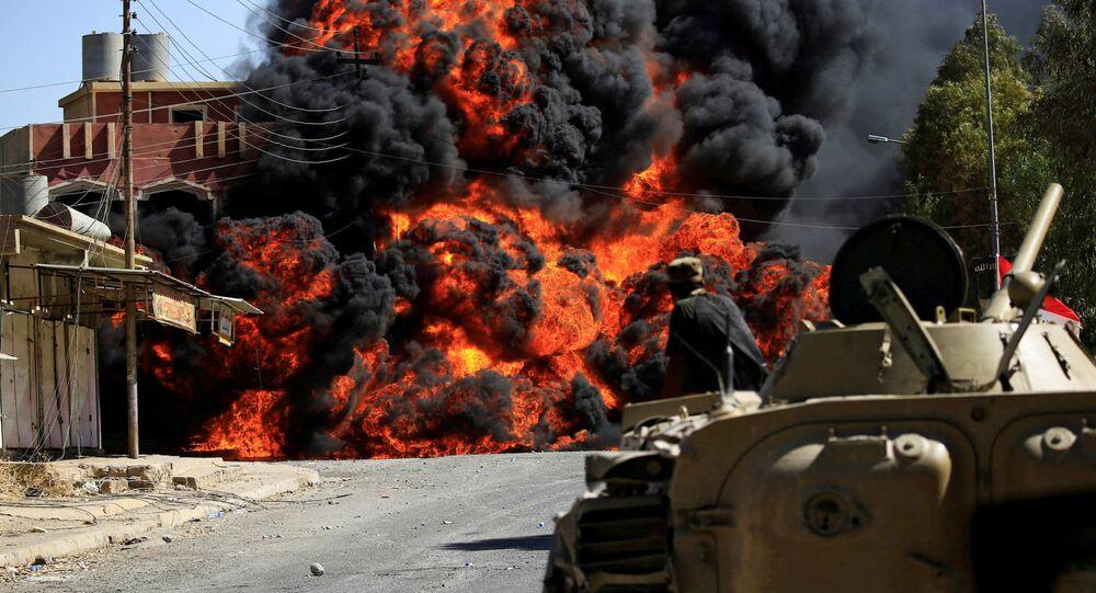 معكرة تحرير تلعفر، العراق 26 أغسطس/ آب 2017