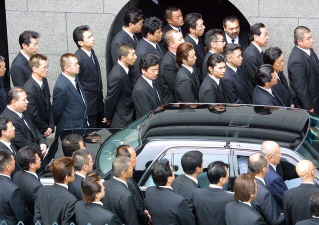 أعضاء المافيا اليابانية