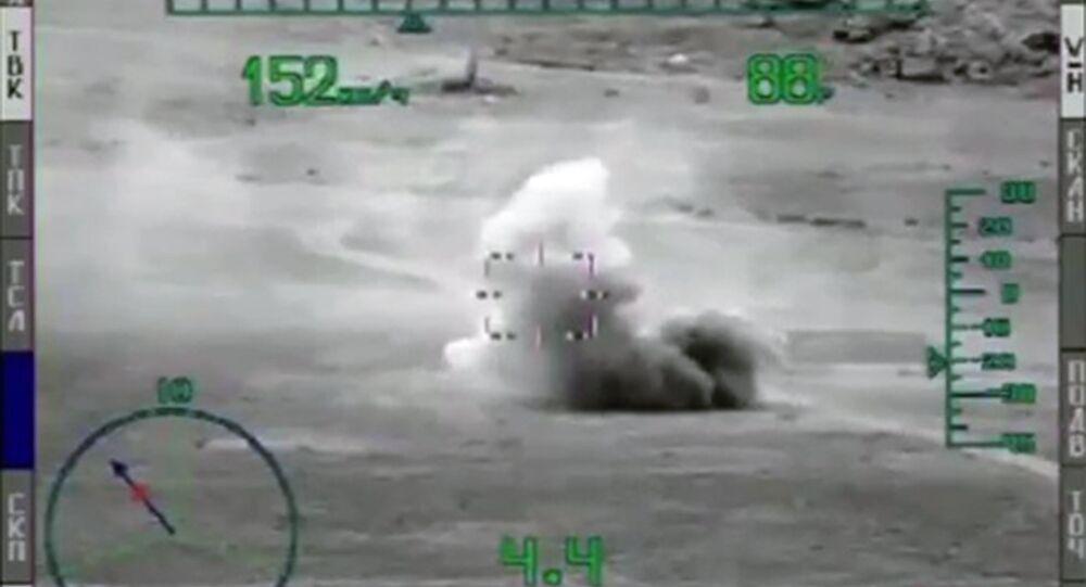 استخدام صواريخ مضادة للدبابات في سوريا