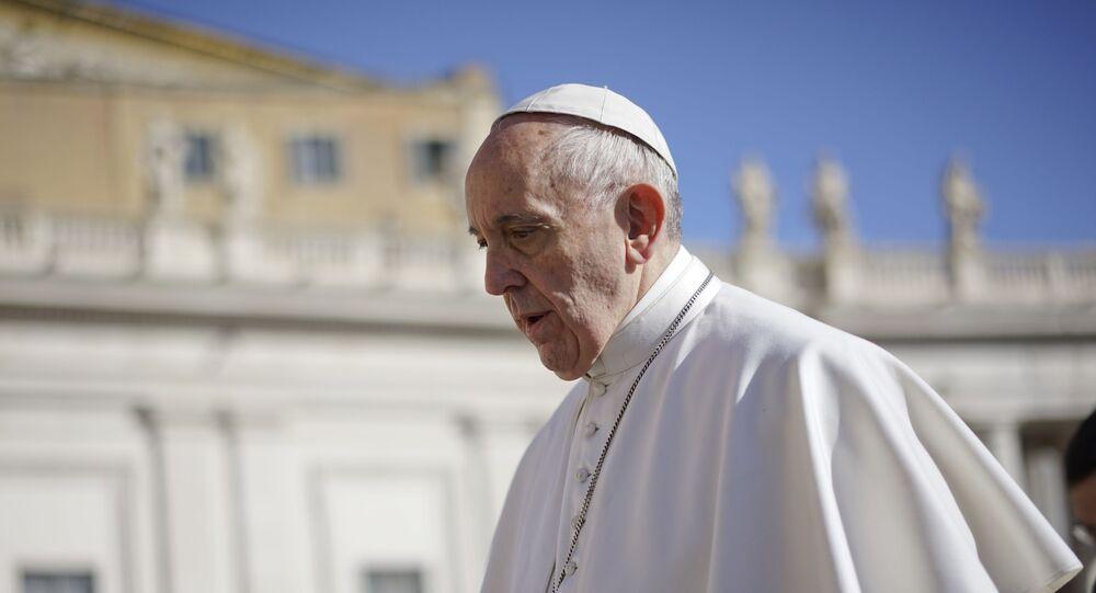 بابا الفاتيكان فرنسيس