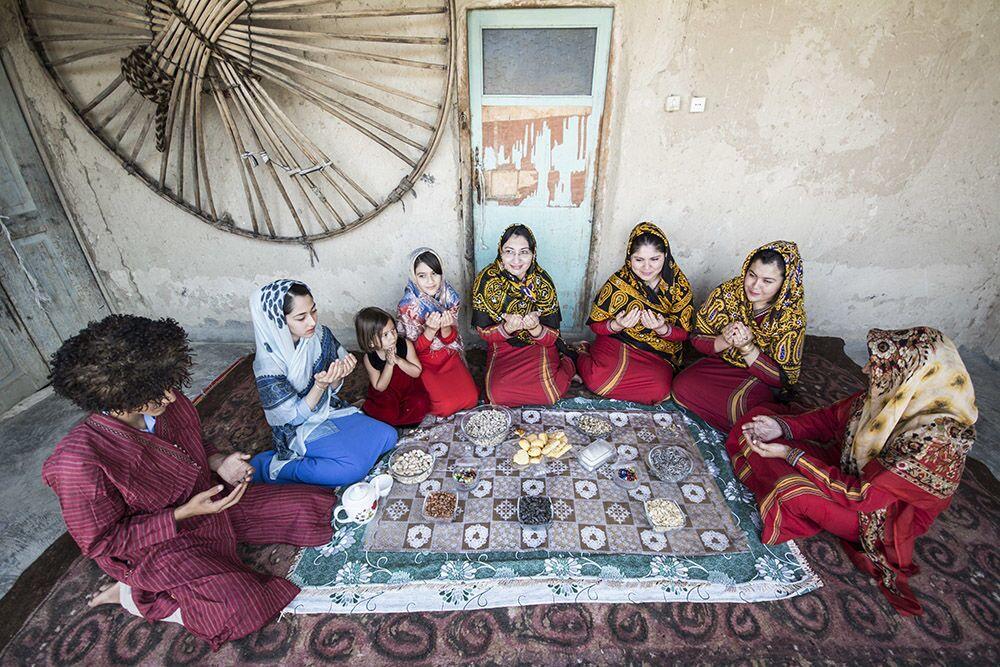 الاحتفال بعيد الأضحى في إيران