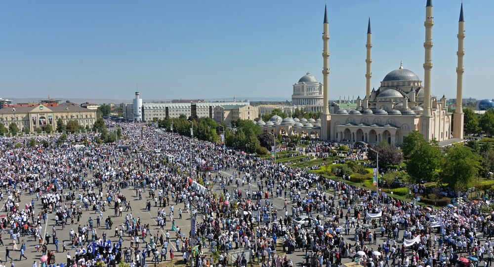 مسيرة في العاصمة الشيشانية لدعم مسلمي الروهينجا