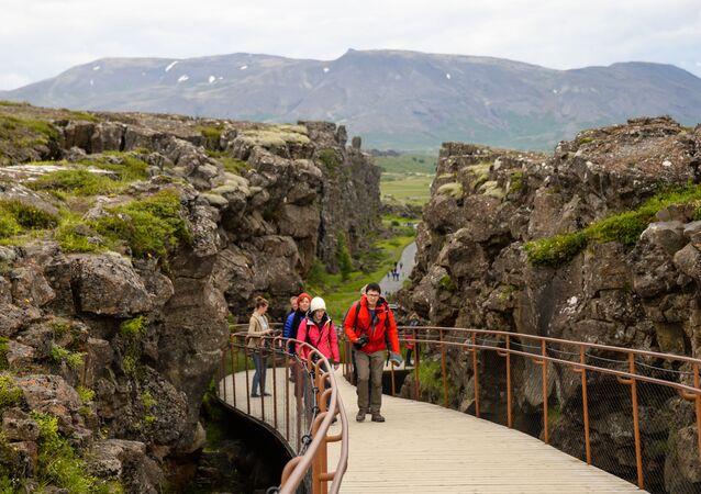 حديقة تينغفيدلير في آيسلندا