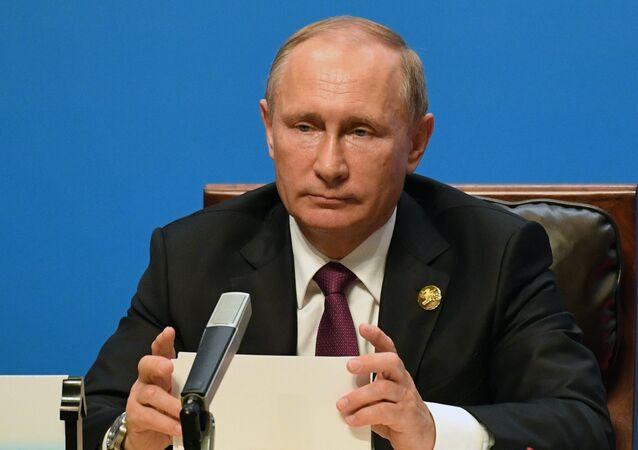 الرئيس الروسي فلاديمير بوتين يشارك في قمة بريكس