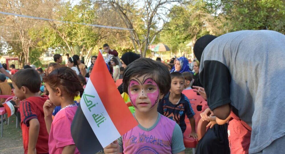 الملاهي تزين الموصل بعد خلاصها من داعش