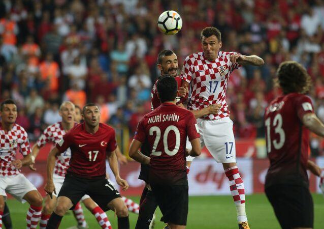 مباراة تركيا وكرواتيا