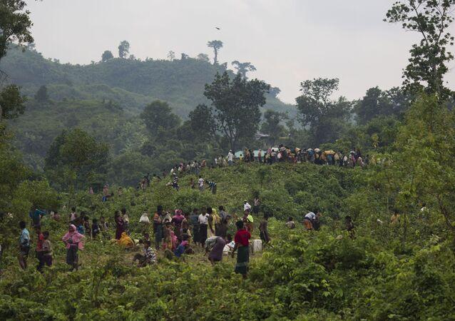 أزمة الروهينغتا - اللاجئون، ميانمار، المسلمون، بنغلادش، 5 سبتمبر/ أيلول 2017