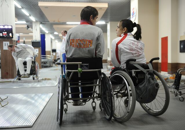 رياضين روس ذوي الإحتياجات الخاصة