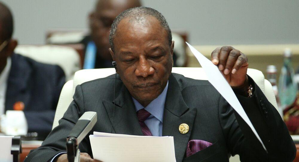 رئيس غينيا