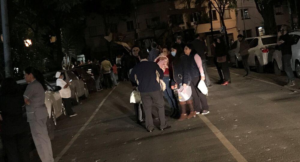 زلزال عنيف بقوة 8 درجات يضرب سواحل المكسيك