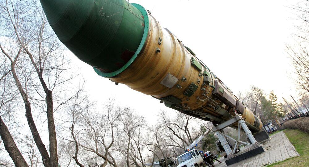 صاروخ بالستي عابر للقارات