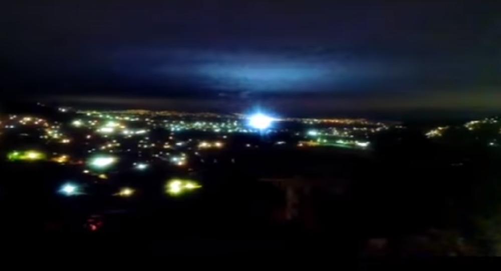 أضواء زلزال المكسيك