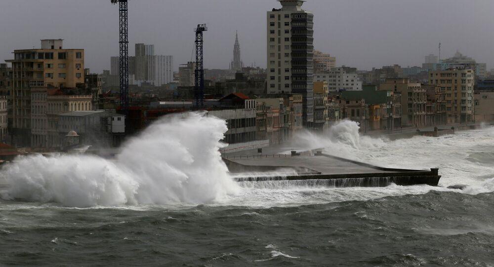 إعصار إرما في كوبا