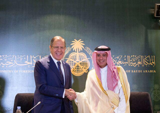 زيارة وزير الخارجية الروسي سيرغي لافروف إلى السعودية (10 سبتمبر/أيلول 2017)